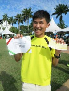 My good friend, the Running Man, Edmund Lai