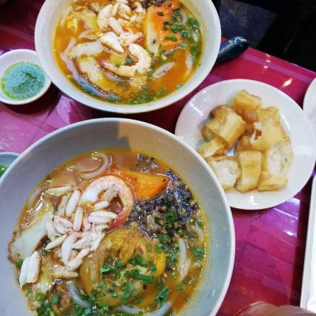 Seafood Noodles Soup